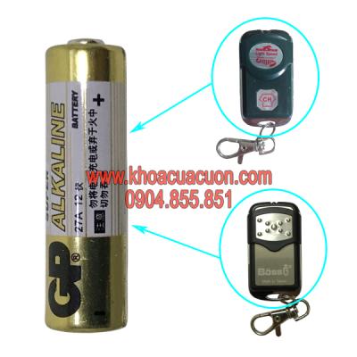 Pin điều khiển GP Akaline 12V-A27