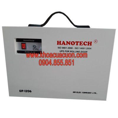 Lưu điện cửa cuốn Hanotech 1206