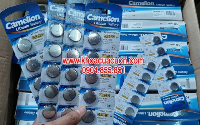 Pin điều khiển Camelion 2032