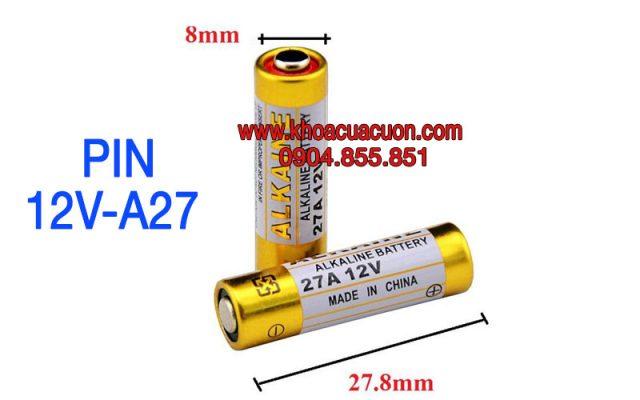 Pin điều khiên 12V-A27