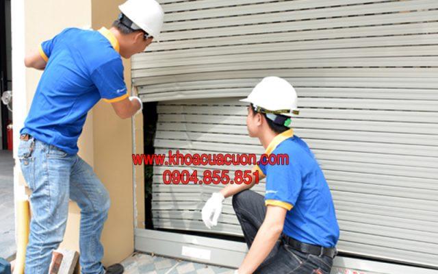 Sửa cửa cuốn Hà Nội