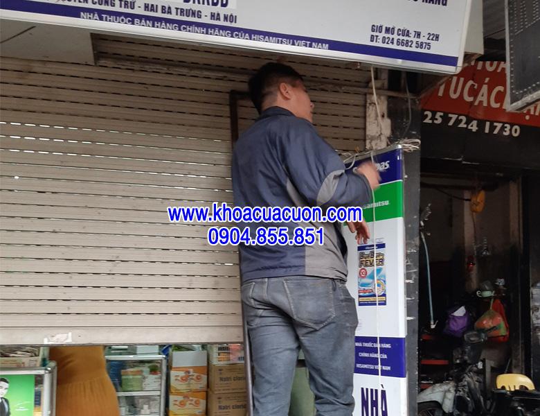 Sửa cửa cuốn quận Hai Bà Trưng