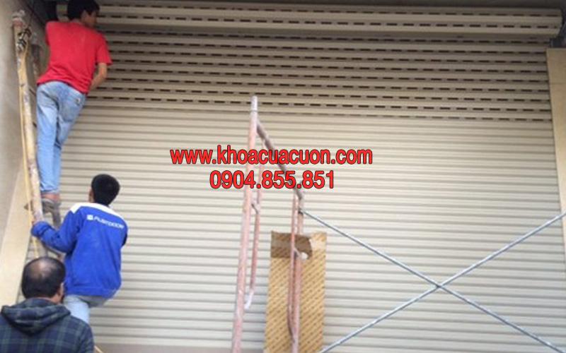 Sửa cửa cuốn quận Cầu Giấy