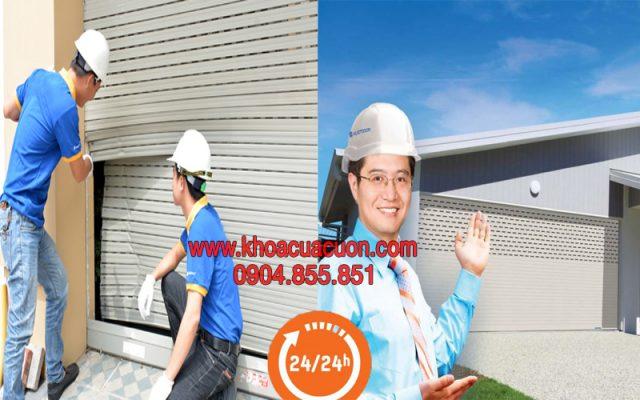 Sửa cửa cuốn 24/7 tại Hà Nội