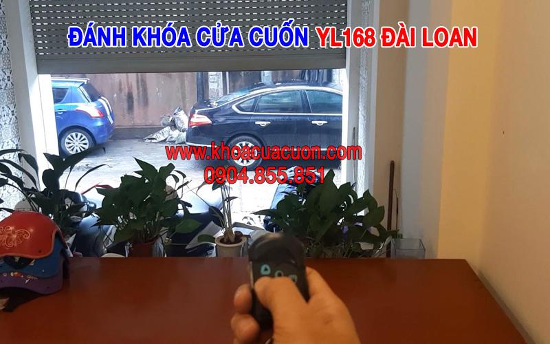 Đánh khóa cửa cuốn YL168 Đài Loan