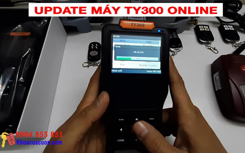 Hướng dẫn update máy TY300