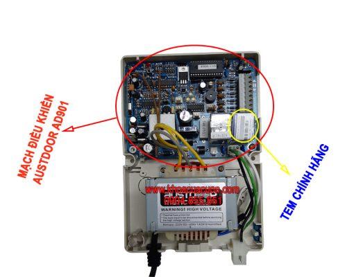 Bo mạch điều khiển cửa cuốn Austdoor AD901