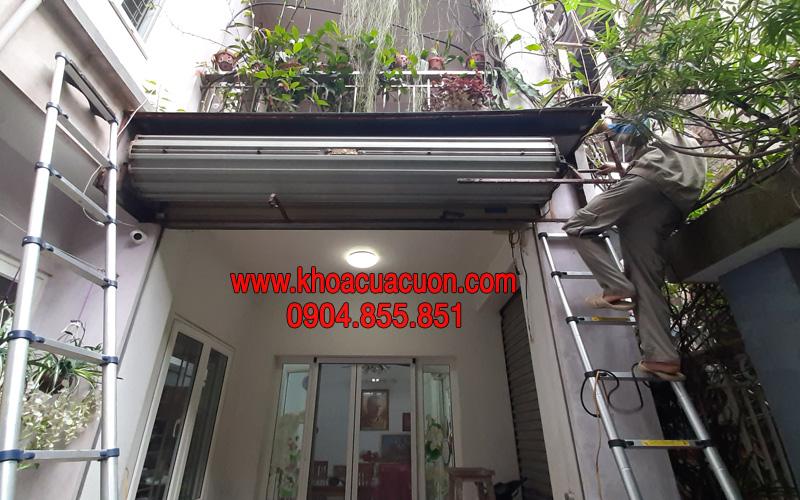 Sửa chữa cửa cuốn quận Long Biên